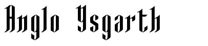 Anglo Ysgarth font