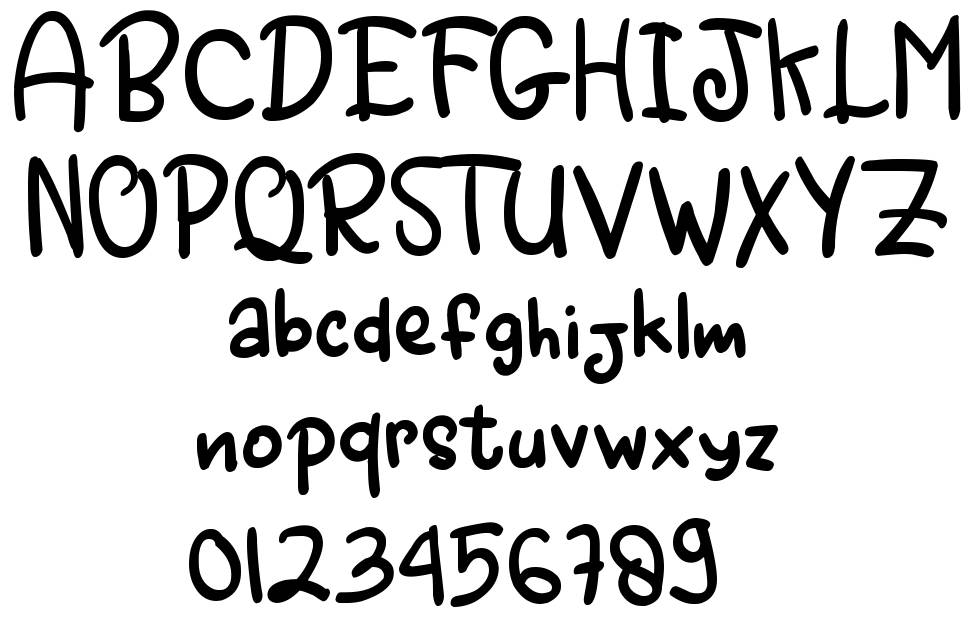 Angry Monsta font