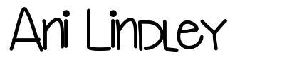 Ani Lindley font