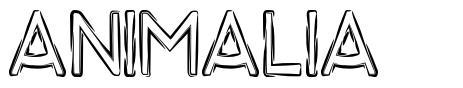 Animalia font