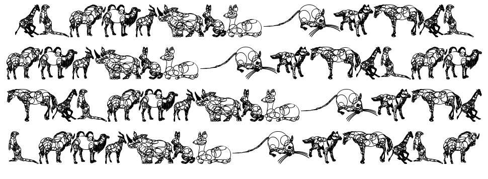 Animaline fonte