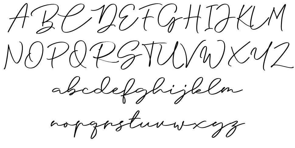 Anjel Script font