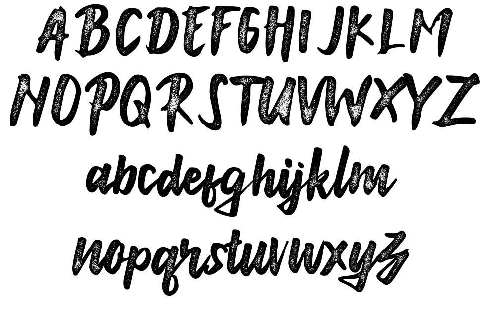 Anonim font