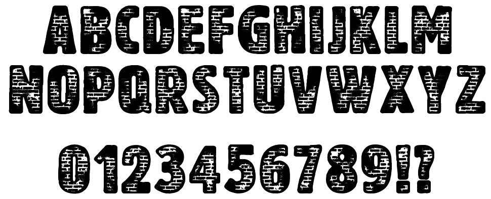 Another Brick font