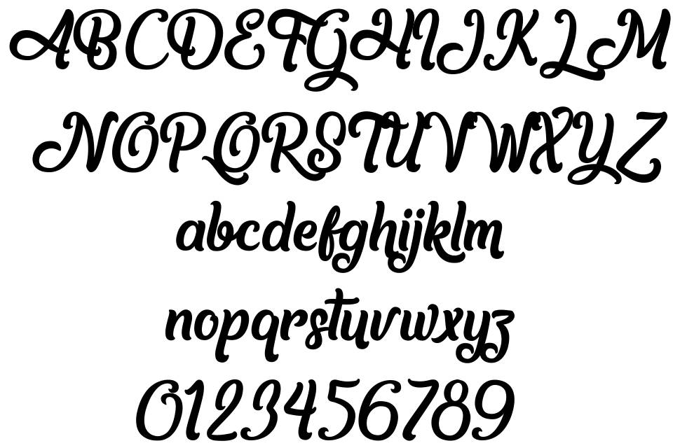 Another day in Paradise font