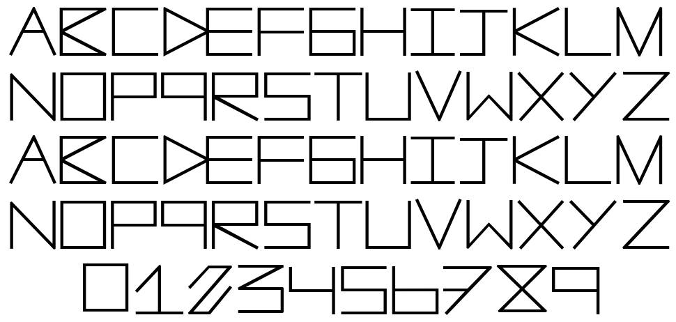 AnotherLine font