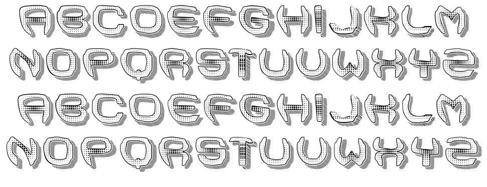 Ansia font