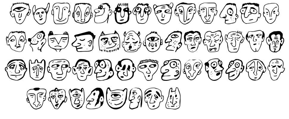 Ansigter písmo