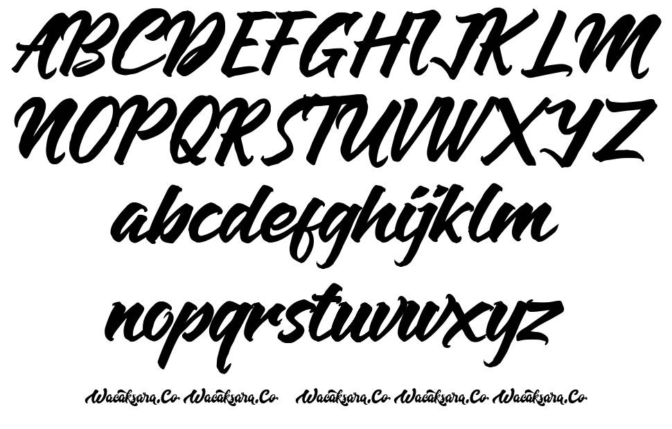Anthares font