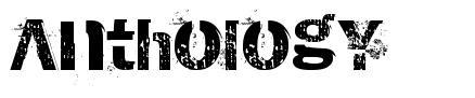 AnthologY 字形
