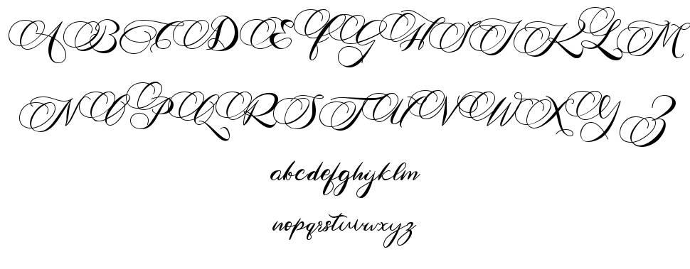 Antika font