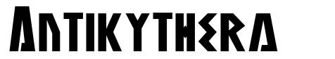 Antikythera フォント