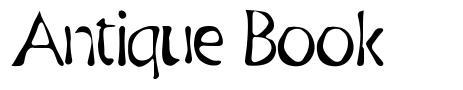 Antique Book font