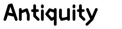 Antiquity font