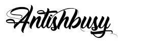 Antishbusy