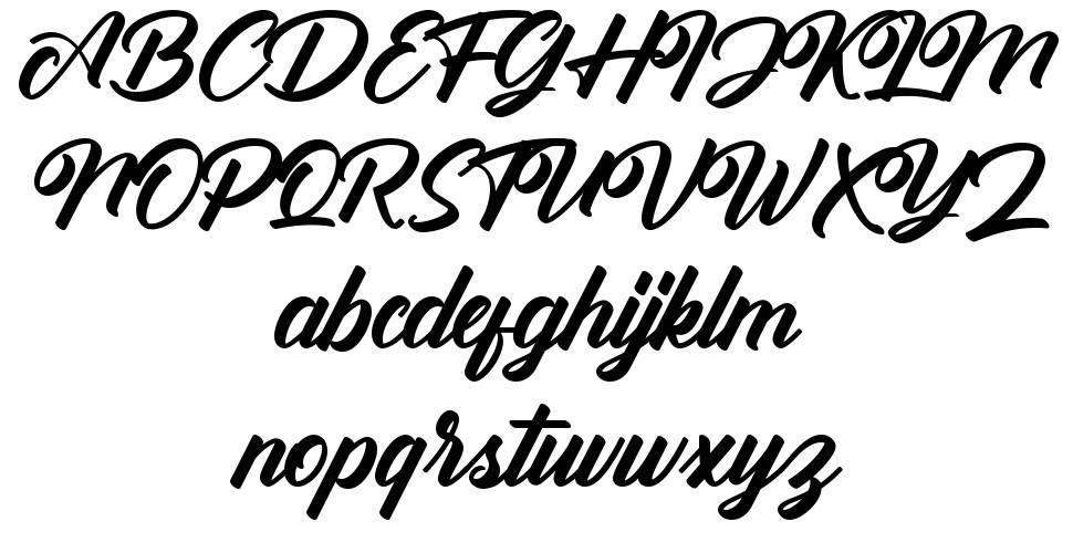 Antonellie Calligraphy шрифт