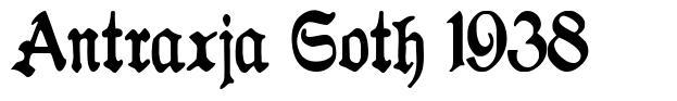 Antraxja Goth 1938