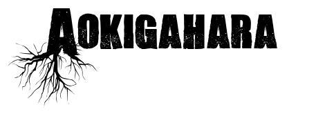 Aokigahara font