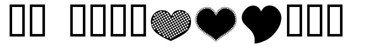 AP Justhearts font
