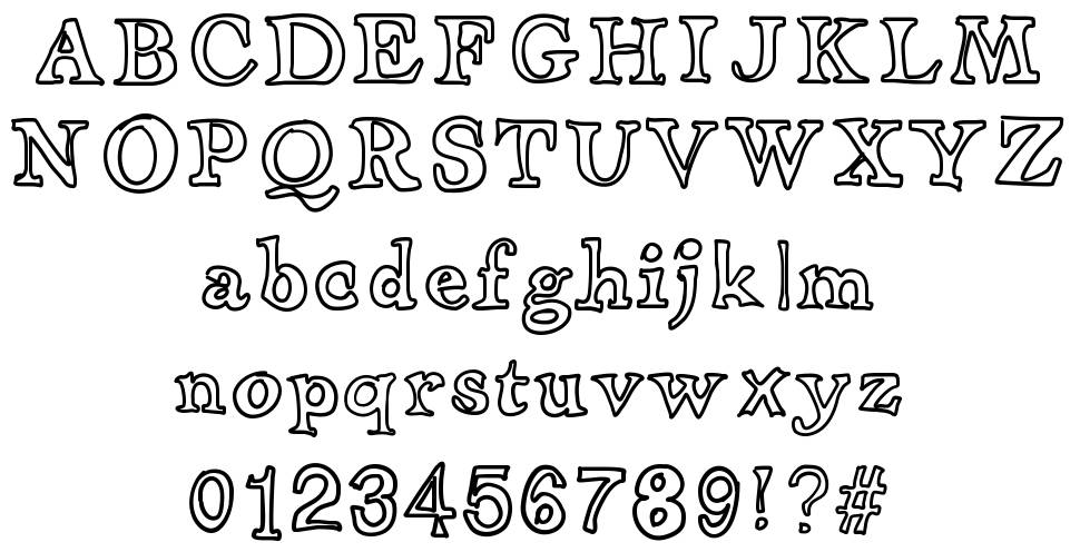 Apothecary font