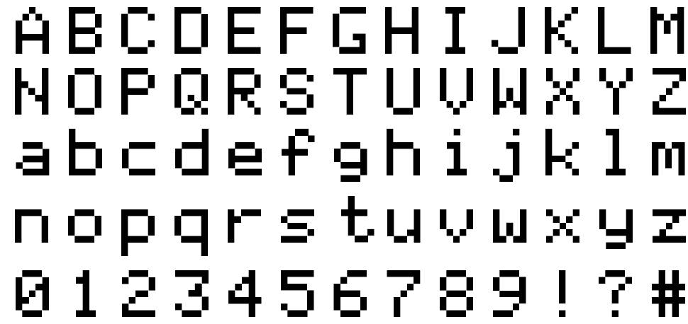 Apple ][ font by Ivan Rood - FontRiver