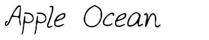 Apple Ocean font