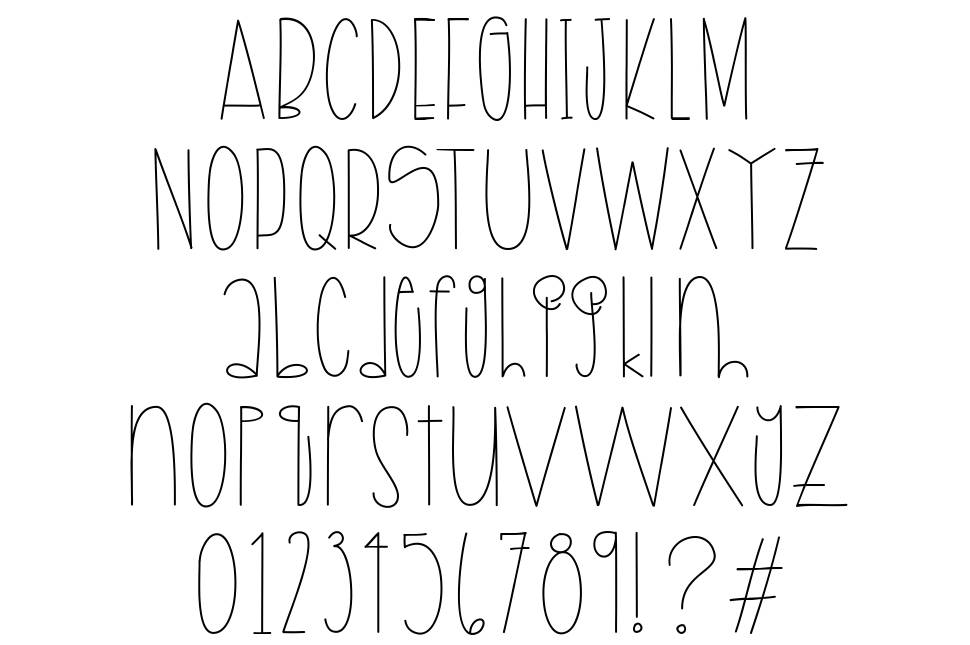 Apples & Pears font