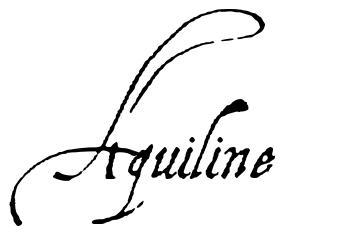 Aquiline font