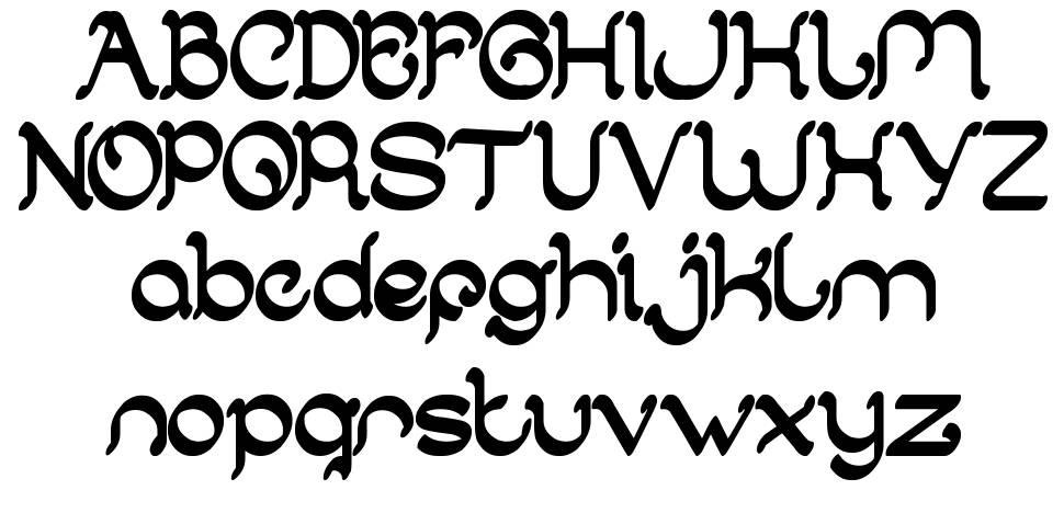 Arabian Knight 字形