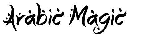 Arabic Magic 字形
