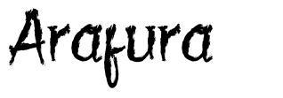 Arafura font