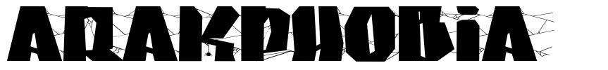 Arakphobia font