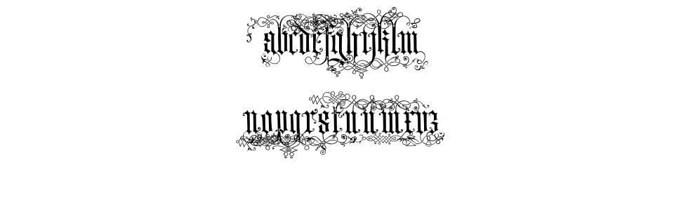 Ardenwood 字形
