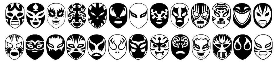 Arena Mascaras font
