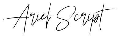 Ariel Script