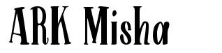 ARK Misha font