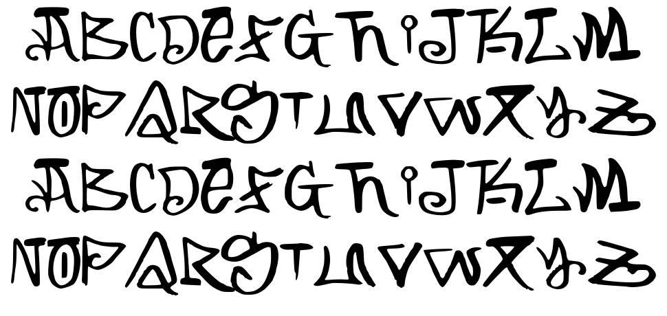 Arking font