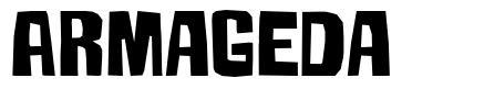 Armageda font