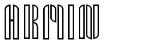 Armin font