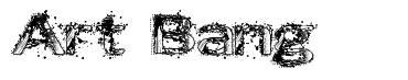 Art Bang font
