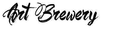 Art Brewery 字形