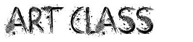 Art Class font
