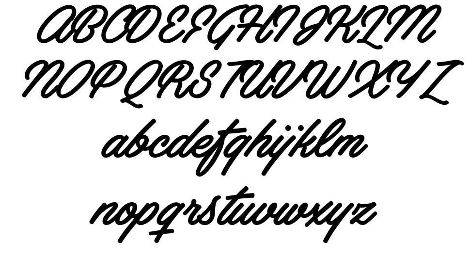 Artely Inks font