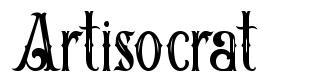 Artisocrat フォント