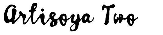 Artisoya Two font