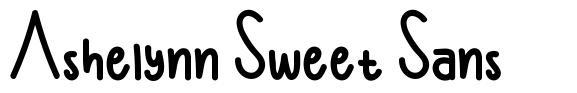 Ashelynn Sweet Sans fuente