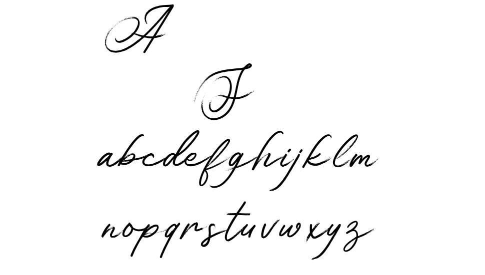 Asian Skyline шрифт