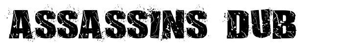 Assassins Dub font
