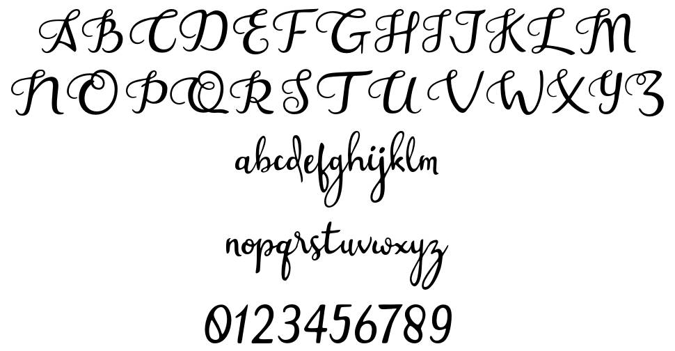 Assessment Handwritten font
