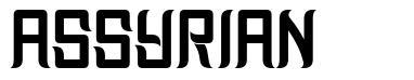 Assyrian шрифт